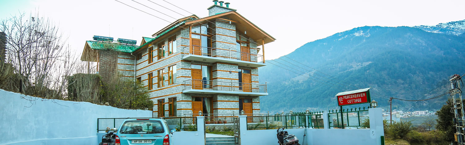 Peace Heaven Cottage Manali offering best accommodation in manali