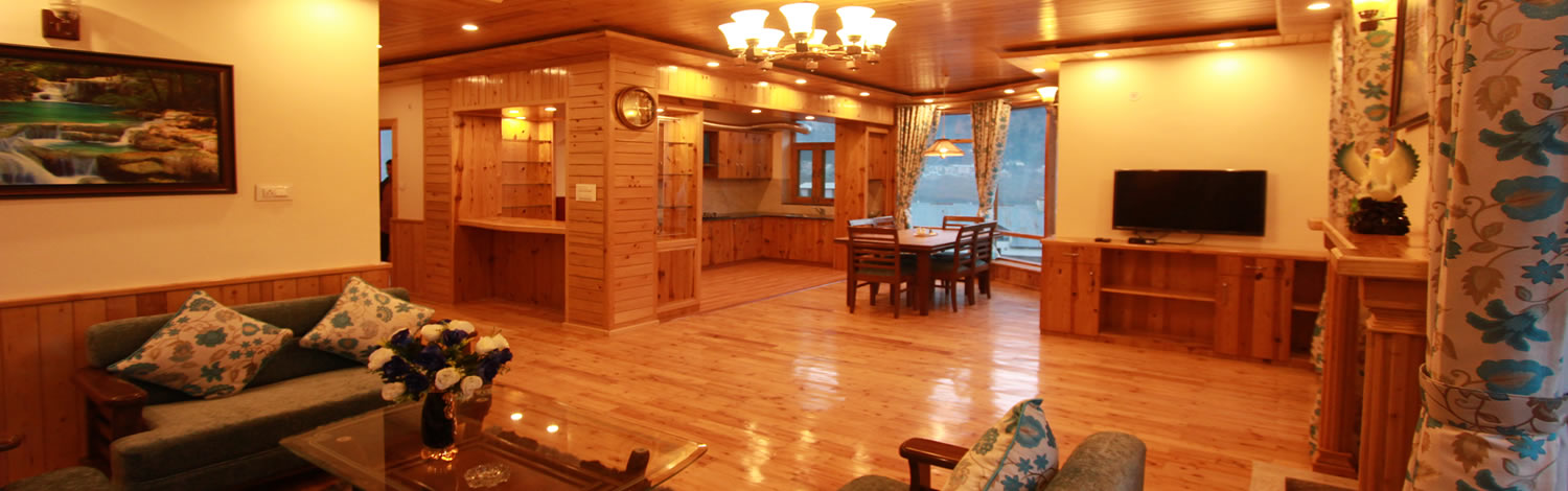 unmatched services and facilites offered by peace heaven cottage manali - best cottage in manali